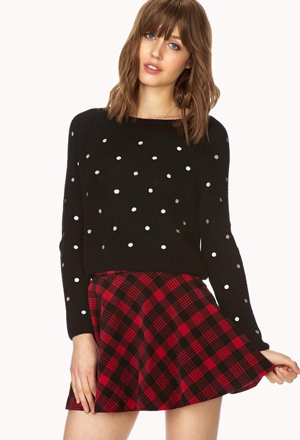 748db162c83cec Forever 21 Favorite Plaid Skater Skirt, $19 | Forever 21 | Lookastic.com