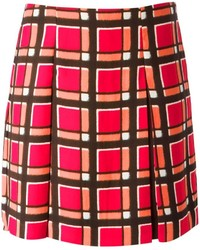 Marc by Marc Jacobs Checked Pleated Skirt
