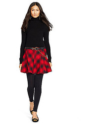 Polo Ralph Lauren Plaid Flannel Mini Skirt