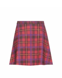 Tre Ccile Tartan Miniskirt