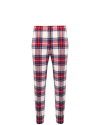 Boutique Moschino Checked Skinny Trousers