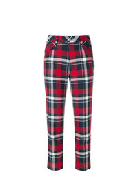 Tomas Maier Multi Plaid Pant