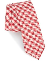 Mesh plaid cotton tie medium 4422931