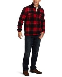 Izod Plaid Full Zip Jacket