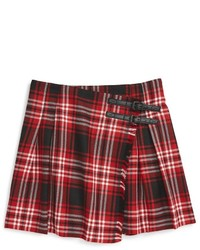 Burberry Plaid Wool Miniskirt