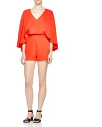 Romeo & Juliet Couture Draped Cape Romper