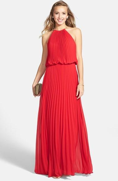 31069d56611f7 Xscape Evenings Xscape Pleated Chiffon Blouson Dress, $229 ...