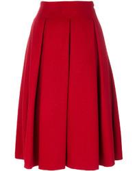 Max Mara Frate Pleated Skirt