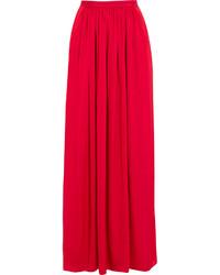 Needle & Thread Pandora Satin Maxi Skirt