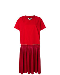 MM6 MAISON MARGIELA Pleated Skirt Dress