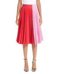 Calvin Klein 205W39nyc Bicolor Pleated Skirt