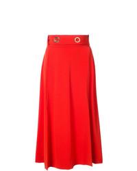 Midi skirt with slits medium 7989041