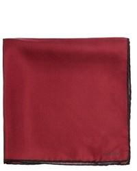 Lanvin Colour Block Silk Pocket Square