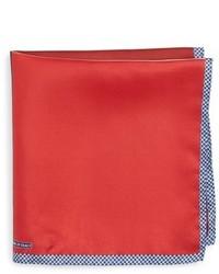 Nordstrom Shop Panel Silk Pocket Square