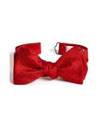 John W. Nordstrom Silk Bow Tie Red Regular