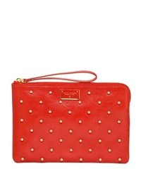 Marc jacobs studded polka dots leather pouch medium 17654