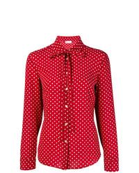 RED Valentino Polka Dot Print Shirt