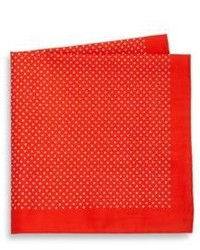 Saks Fifth Avenue Collection Dot Print Pocket Square