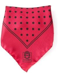 Dolce & Gabbana Polka Dot Pocket Square