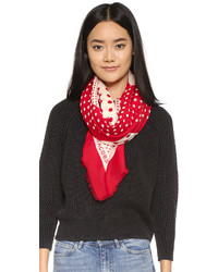 Marc by Marc Jacobs Polka Dot Square Scarf
