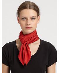 Saint Laurent Silk Blend Scarf