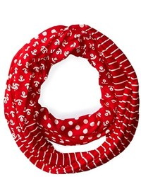 Sperry Top Sider Triple Print Infinity Scarf
