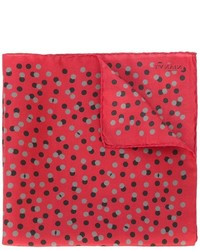 Lanvin Polka Dot Pocket Square