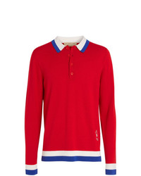 Burberry Knitted Polo Shirt