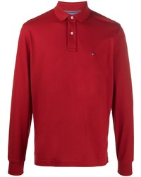 Tommy Hilfiger Piqu Cotton Polo Shirt
