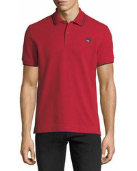 McQ Alexander Ueen Logo Polo Shirt Wcontrast Tipping