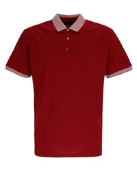 Emporio Armani Contrasting Trim Cotton Polo Shirt