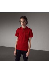 Burberry Cotton Piqu Polo Shirt