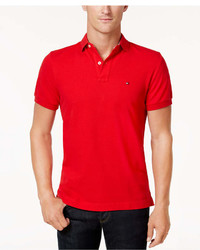 Tommy Hilfiger Custom Fit Ivy Polo Created For Macys