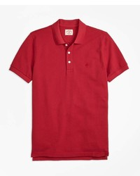 Brooks Brothers Gart Dyed Cotton Pique Polo Shirt