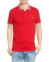 Lacoste Semi Fancy Stretch Polo