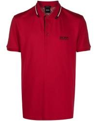 BOSS Logo Embroidered Polo Shirt