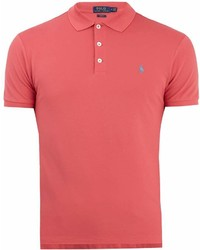 Polo Ralph Lauren Logo Embroidered Stretch Cotton Piqu Polo Shirt