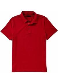 Michael Kors Michl Kors Bryant Performance Short Sleeve Solid Stretch Knit Polo Shirt