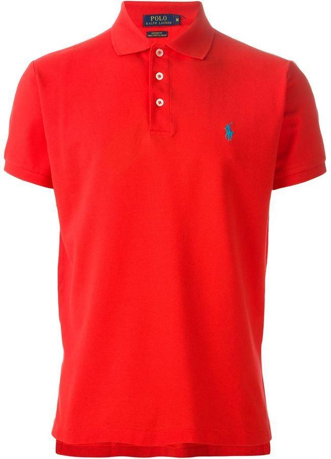 contrast logo polo shirt - Yellow & Orange Polo Ralph Lauren Cheap Sale Limited Edition DIDu4