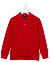 Ralph Lauren Kids Long Sleeve Polo Shirt
