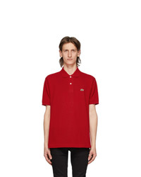 Lacoste Red L1212 Polo