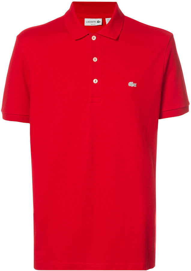 4eb1991ee ... Red Polos Lacoste Slim Fit Polo Shirt