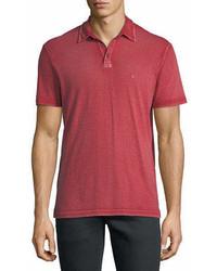 John Varvatos Star Usa Short Sleeve Peace Polo Shirt
