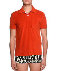 Tom Ford Terry Cloth Polo Shirt