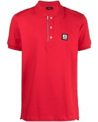 Diesel Zip Detail Polo Shirt