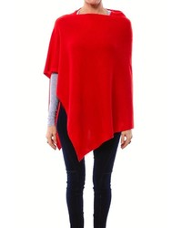 7 On Locust Cashmere Poncho