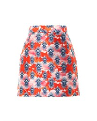 House of Holland Tropical Dove Print Mini Skirt