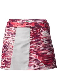 Kenzo printed mini skirt medium 150850