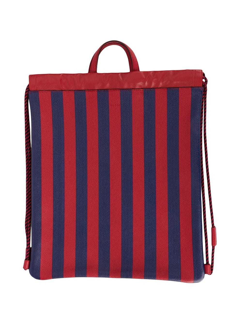 fb0b95cda045 Gucci Snake Drawstring Backpack, $1,674 | farfetch.com | Lookastic.com
