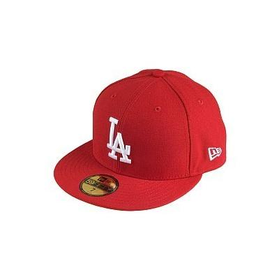 ... New Era Caps New Era 59fifty La Dodgers Baseball Cap Red 522fcadf3